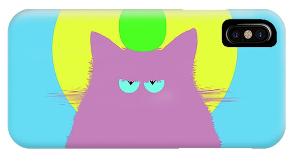 New Trend iPhone Case - Tropical Lilac Cat by Zaira Dzhaubaeva