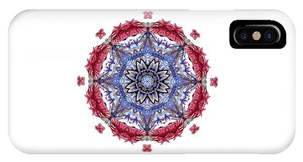 Tropical Mandala By Kaye Menner IPhone Case