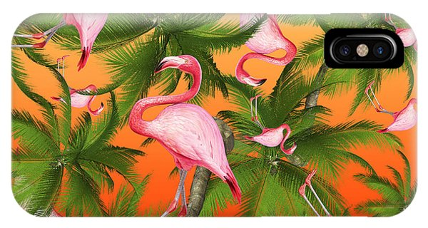 Leaf iPhone Case - Tropical by Mark Ashkenazi