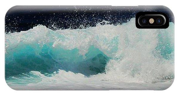 Tropical Ocean Surf IPhone Case