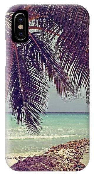 Tropical Ocean View IPhone Case