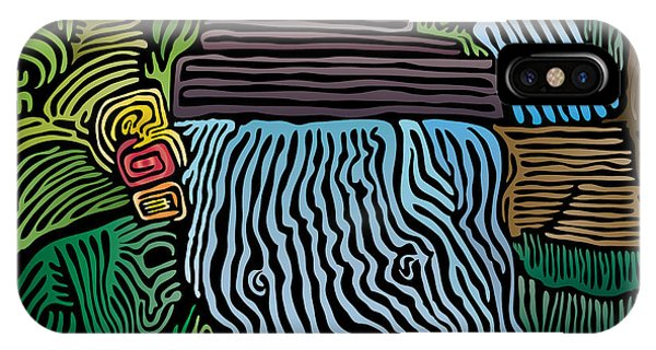 Tropical River IPhone Case