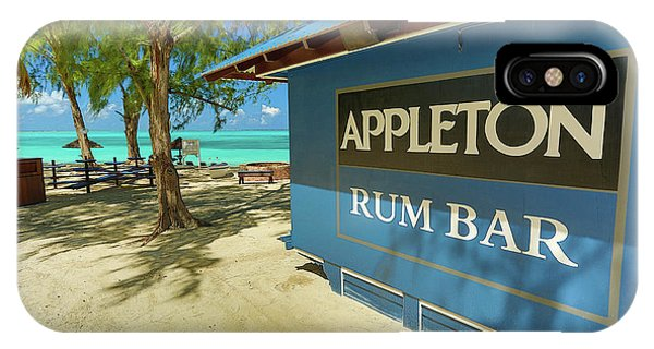Tropical Rum Bar IPhone Case
