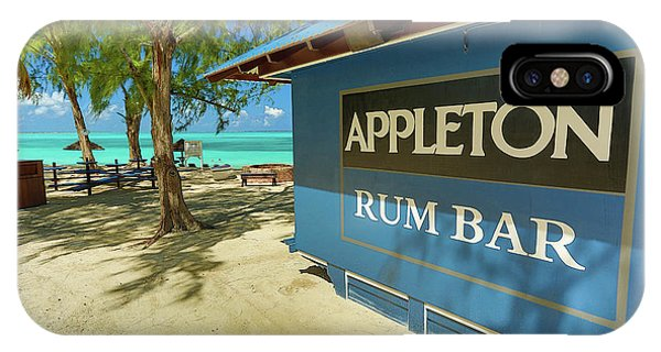 Tropical Rum Bar IPhone Case