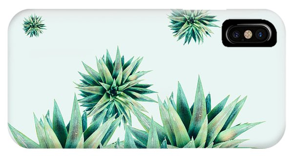Succulent iPhone Case - Tropical Stars  by Mark Ashkenazi