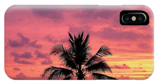 Tropical Sunset IPhone Case