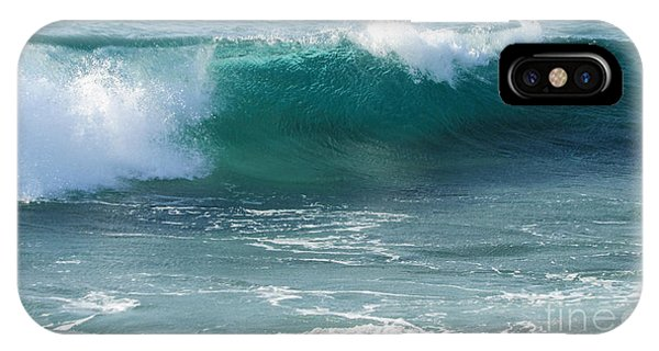 Tropical Treasure Coast Florida Seascape Wave 99 IPhone Case