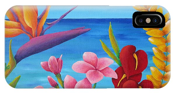 Hawaiian Sunset iPhone Case - Tropical View by Pamela Allegretto