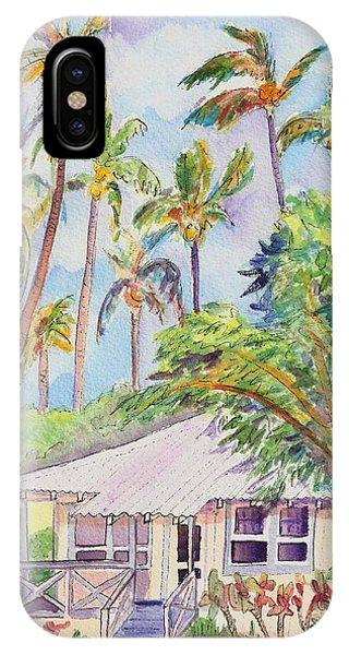 Tropical Waimea Cottage IPhone Case