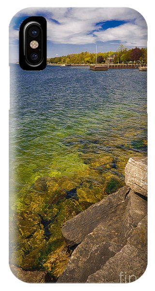 Tropical Waters Of Door County Wisconsin IPhone Case