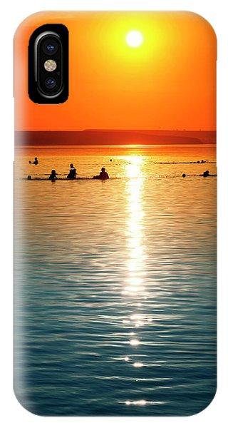 Tropicana Swimming IPhone Case