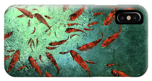 Koi iPhone Case - Troppi Per Contarli by Guido Borelli