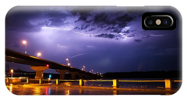 Troubled Skies IPhone Case