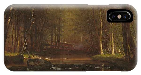 Trout Brook In The Catskills IPhone Case