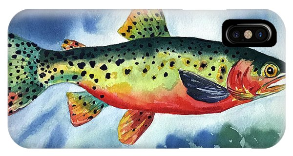 Trout IPhone Case