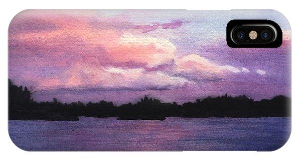 Trout Lake Sunset I IPhone Case