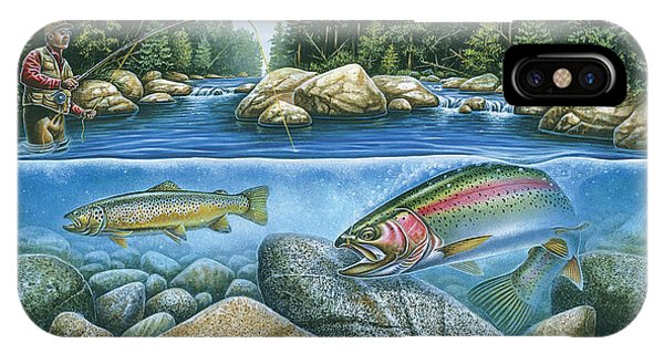 Trout iPhone Case - Trout View by JQ Licensing