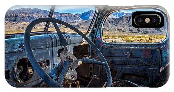 Truck Desert View IPhone Case