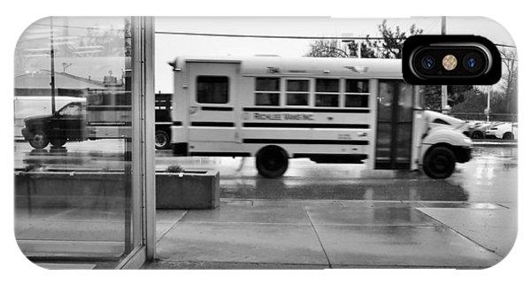 Truckin' In The Rain IPhone Case