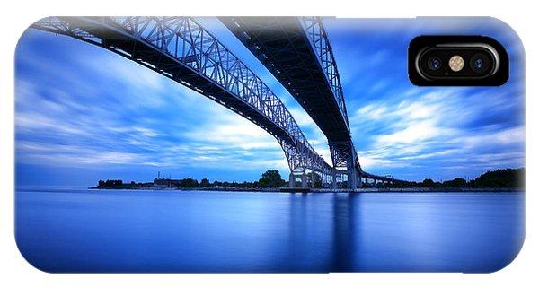 True Blue View IPhone Case