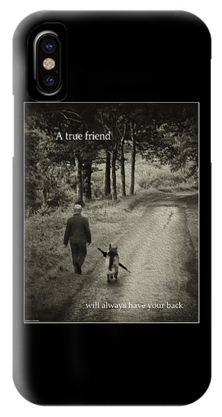 True Friend IPhone Case