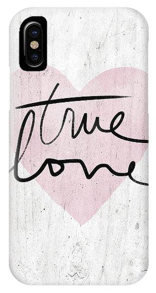 Design iPhone Case - True Love Rustic- Art By Linda Woods by Linda Woods