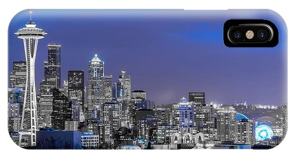 True To The Blue In Seattle IPhone Case