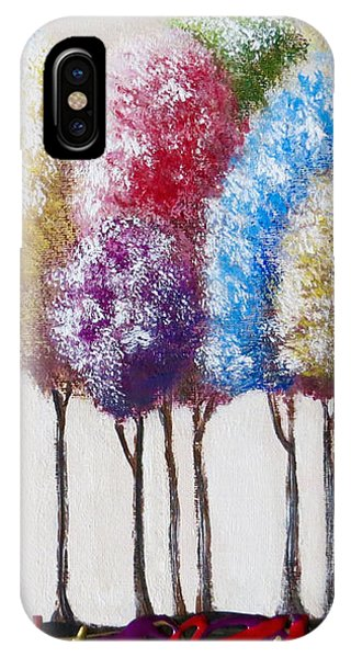 Truffula Forest IPhone Case