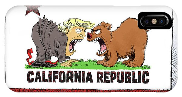 Trump And California Face Off IPhone Case