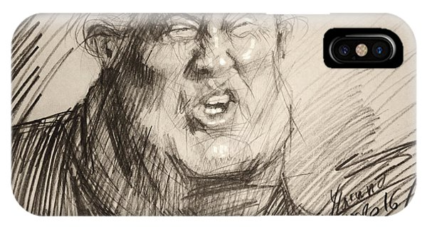 Election iPhone Case - Trump-the Womanizer For President by Ylli Haruni