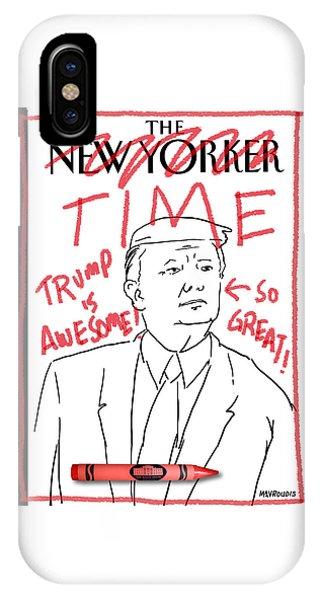 Trump Time IPhone Case