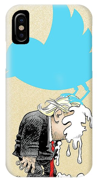 Trump Twitter Poop IPhone Case