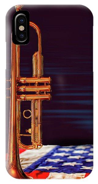 Trumpet-close Up IPhone Case