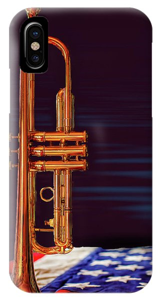 Trumpet-close Up IPhone Case