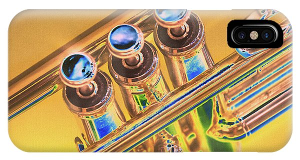 Trumpet Keys IPhone Case