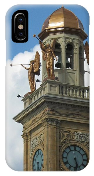 Trumpeting Angels IPhone Case