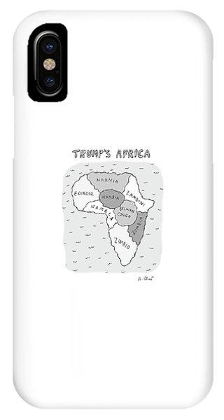 Trumps Africa IPhone Case