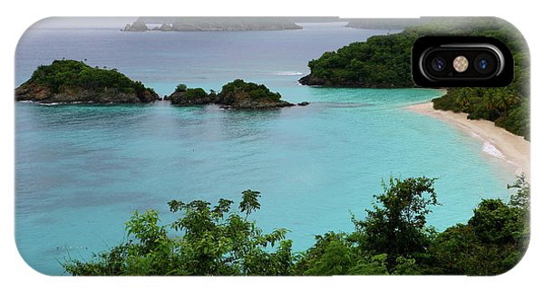 Trunk Bay At U.s. Virgin Islands National Park IPhone Case