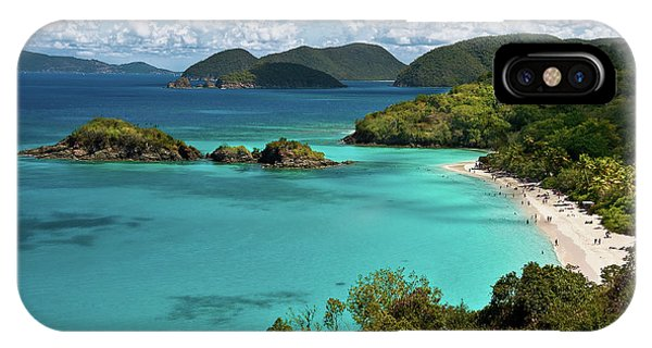 Trunk Bay Overlook IPhone Case
