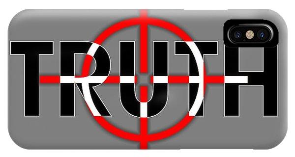 Truth Under Siege IPhone Case