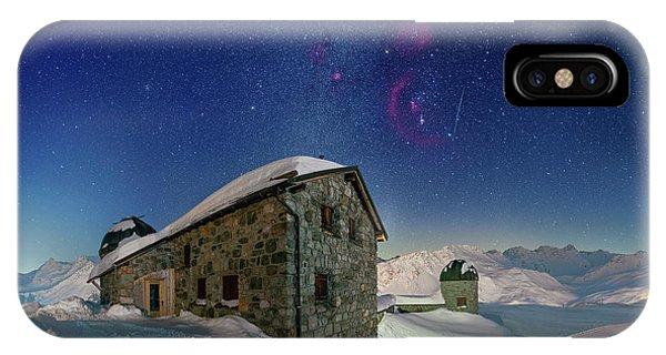 Tschuggen Observatory IPhone Case