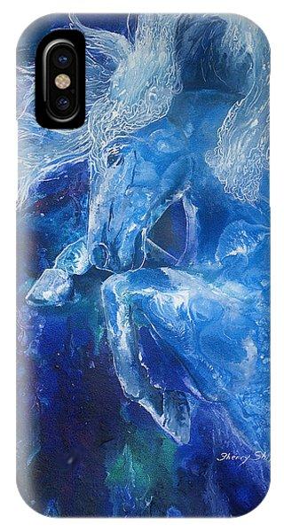 Tsunami Water Horse IPhone Case