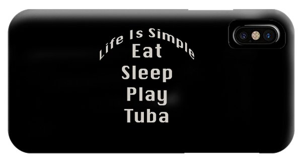 Tuba Eat Sleep Play Tuba 5519.02 IPhone Case