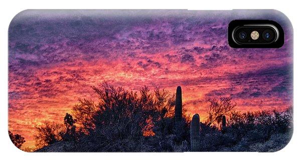 Tucson Sunrise IPhone Case