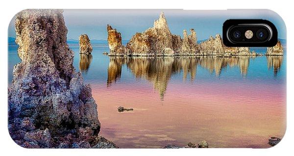 Tufas At Mono Lake IPhone Case