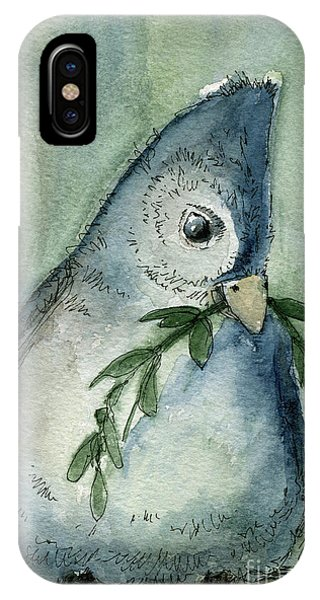 Tufted Tit IPhone Case