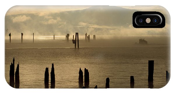 Tugboat In The Mist IPhone Case