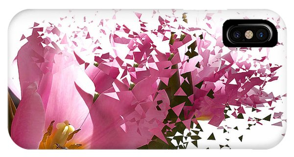 Close Up Floral iPhone Case - Tulip Blast by Kume Bryant
