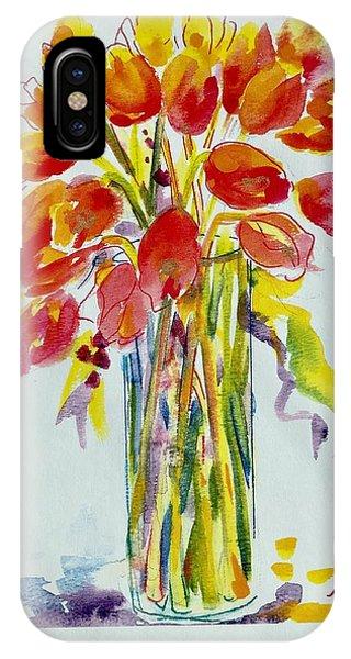 Tulip Fire Element IPhone Case