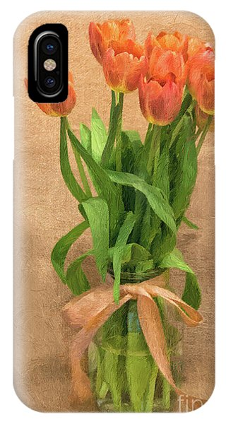 Tulip Impasto IPhone Case